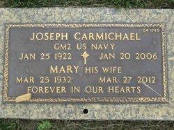 Mary Elizabeth <I>Secord</I> Carmichael