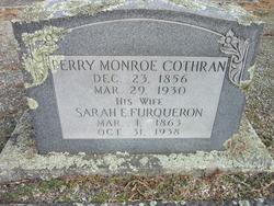 "Sarah Elizabeth ""Bettie"" <I>Furqueron</I> Cothran"