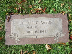 "Lillian P. ""Lilly"" <I>Anderson</I> Clawson"
