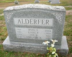 Ada B. <I>Ritter</I> Alderfer
