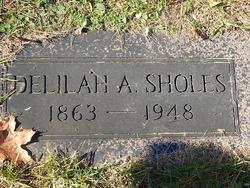 Delilah A. <I>Nesham</I> Sholes