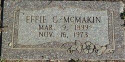 Effie G McMakin