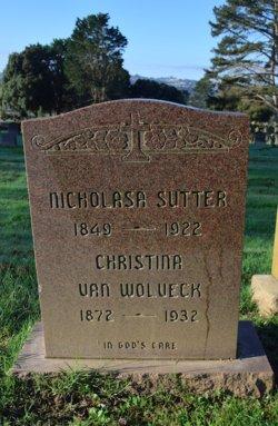 Christina <I>Sutter</I> Van Wolbeck
