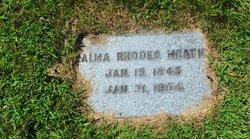 Alma Miranda <I>Rhodes</I> Heath