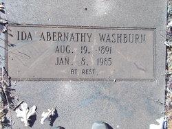 Ida <I>Abernathy</I> Washburn