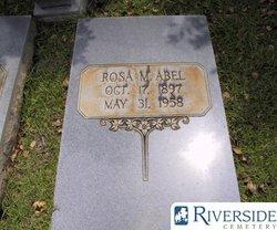 Rosa Ann <I>Marshall</I> Abel