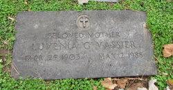 Luvenia Gladys <I>Curran</I> Vassier