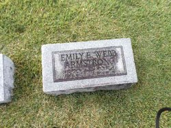 Emily E. <I>Webb</I> Armstrong