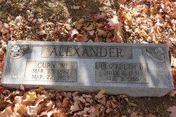 Curn W Alexander