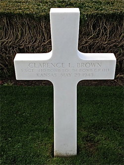 SSgt Clarence L Brown