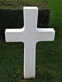 2Lt William D Burroughs