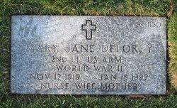 Mary Jane <I>Healy</I> Delorey