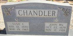 Susie Ellen <I>Wages</I> Chandler