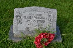 Mable Virginia <I>Sparks</I> Dodd