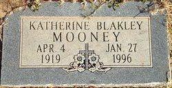 Katherine <I>Blakley</I> Mooney