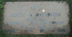 Alvin B Davidson