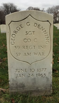 SGT George Gordon Denning