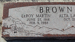 Le Roy Martin Brown