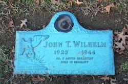 "Pvt John T ""Teddy"" Wilhelm"