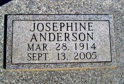 Josephine <I>Daniel</I> Anderson