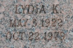 "Lydia K ""Lee"" <I>Schumacher</I> Fitzgerald"