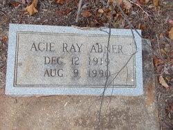 Acie <I>Ray</I> Abner