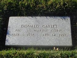 Donald Gayles