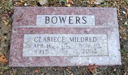 Clariece M. <I>Wickman</I> Bowers