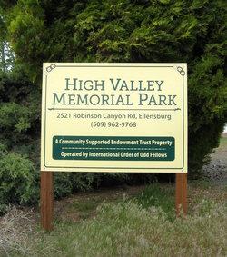 High Valley Memorial Park