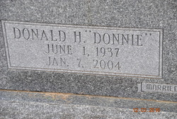 "Donald H ""Donnie"" Hawkins"