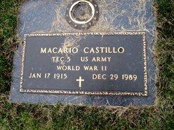 "Macario ""Tony"" Castillo"