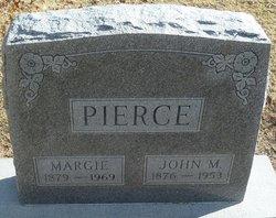 Margie E. <I>Walker</I> Pierce