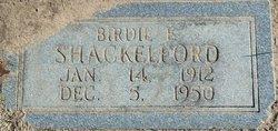 Birdie E Shackelford
