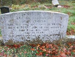 Herbert Cooper (Unknown-1925) - Find A Grave Memorial