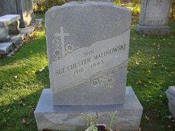 Sgt Chester Malinowski