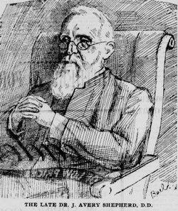 Rev Jonathan Avery Shepherd