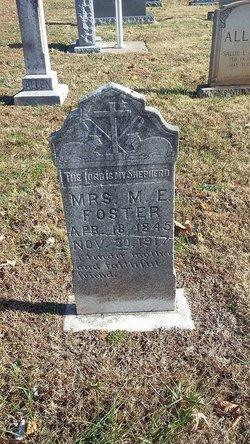 Mary Elizabeth <I>Allen</I> Foster