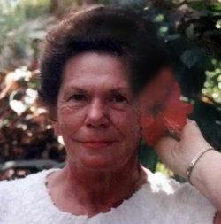 """Frances Mae """"Billie"""" <I>Williams</I> Poole"""