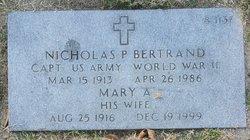 Mary A Bertrand