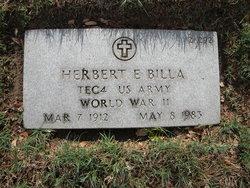 Herbert Ernest Billa