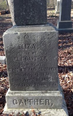 Elizabeth <I>Disney</I> Gaither