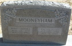 "Mary Adeline ""Addie"" <I>Sullivan</I> Mooneyham"