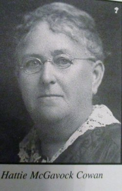 """Harriet Young """"Hattie"""" <I>McGavock</I> Cowan"""