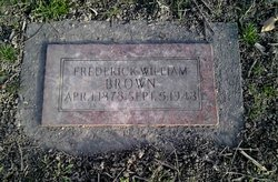 """Frederick William """"Fred"""" Brown"""