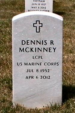 LCpl Dennis Roddie McKinney