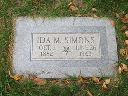 Ida M Simons