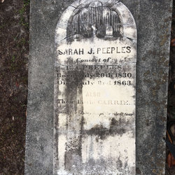 Sarah Jane <I>Camp</I> Peeples