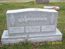 """Matthew """"Matt"""" Mackey"""