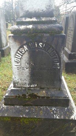 Louisa <I>Clemson</I> Washington