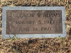 Woodrow W Adams
